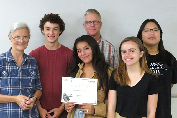 Students recognized for gift and service in Peru