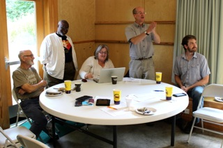 Trustees at their August 2015 retreat
